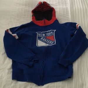 NY Rangers kids hoodie youth large